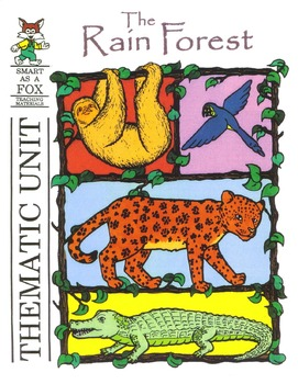 Rain Forest Thematic Unit BOOK