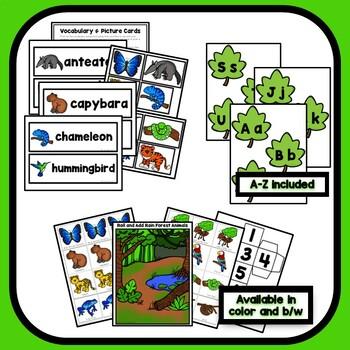 Rain Forest Theme Preschool Lesson Plans