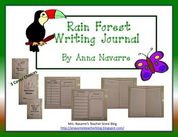 Rain Forest Writing Journal