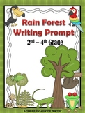 Rain Forest Writing Prompt & Graphic Organizers