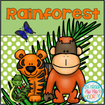 The Rainforest...An adventure with crafts and activities!