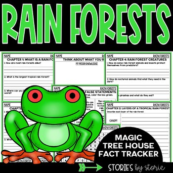 Rain Forests (Magic Tree House Fact Tracker & Nonfiction Companion)