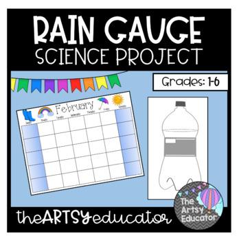 Rain Gauge Science Project