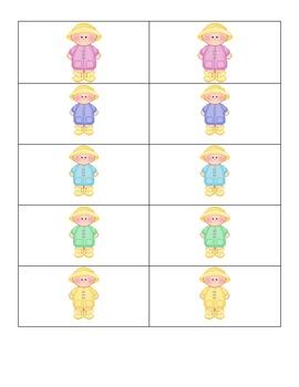 Rain Kids- Card Matching