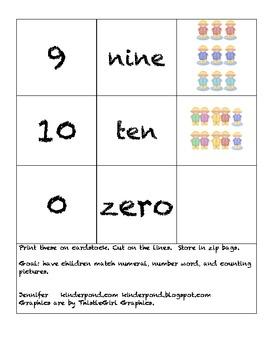 Rain Kids- Domino Numbers