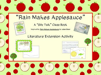 Rain Makes Applesauce Class Book