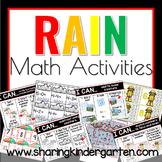 Rain Math Activities