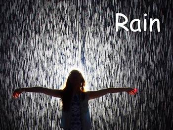 "Rain Nonfiction PowerPoint ""Book"" for First or Second Grade"