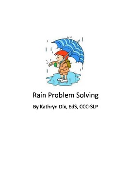 Rain Problem Solving with visual choices