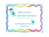 Compound Words for Earth Day: Rain, Rain Don't Go Away! FREEBIE BOOK