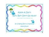 Compound Words for Earth Day: Rain, Rain Don't Go Away! FR