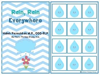 Rain, Rain Everywhere Interactive Book
