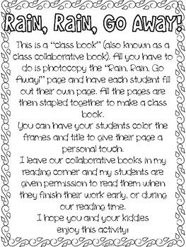 Rain Class Book