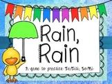 Rain, Rain Go Away: A song to practice So & Mi; Ta & TiTi
