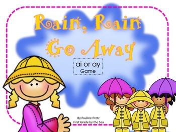 Rain, Rain, Go Away! Game for ai and ay