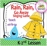 Rain, Rain, Go Away {Kodaly Folk Song to teach ta, ti-ti,