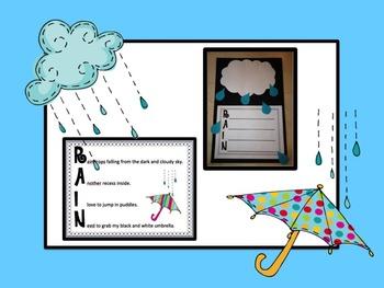 Rain, Rain Go Away: Literacy and Math Activities