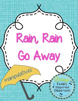 Rain Rain Go Away Manipulatives