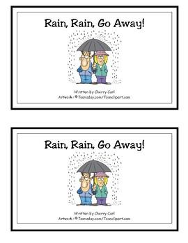 Rain, Rain, Go Away! Reproducible Guided Reader