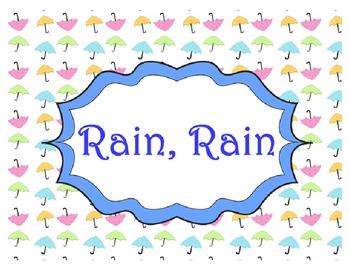 Rain Rain Go Away - Rhythm and Melody