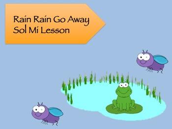 Rain Rain Go Away Sol Mi Lesson Pack