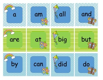 Rain, Rain Go Away Spring Sight Word Game
