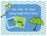 Rain, Rain Go Away Spring Sight Word Game