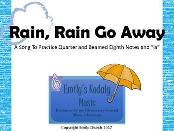 Rain, Rain Go Away Teacher Pack