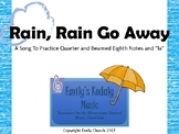 Rain, Rain Go Away Teacher Pack