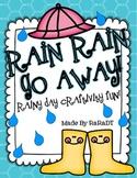 Rain, Rain Go Away! {Writing Craftivities and MORE!}