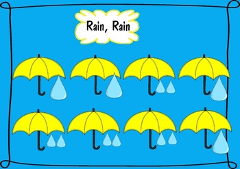 Rain, Rain: Resources to support this classic little song.