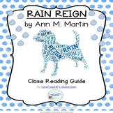 Rain Reign- A Guide to Close Reading this Text