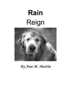 Rain Reign: A Novel Study