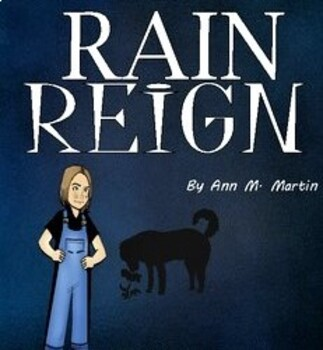 Rain Reign by Ann Martin: A Novel Study created by Jean Martin