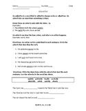 Rain School Adverbs Practice