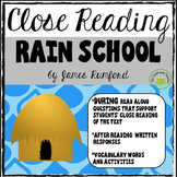 Engage NY Module 1 - Rain School: Page by Page Prompts and More