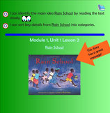 Rain School - Module 1, Unit 1, Lesson 2