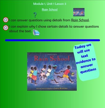 Rain School - Module 1, Unit 1, Lesson 3