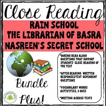 Engage NY Module 1 Rain School, Librarian of Basra, Nasreen's Secret School
