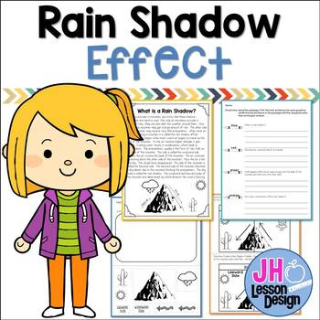 Rain Shadow Effect by JH Lesson Design | Teachers Pay Teachers