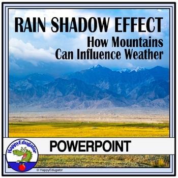 Rain Shadow Effect PowerPoint