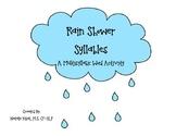 Rain Shower Syllables: A Multisyllabic Word Activity