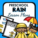 Rain Theme Preschool Lesson Plans - Rain Activities