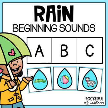 Rain | Weather Beginning Sounds {FREE}