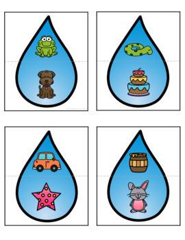 Rain | Weather Centers: Math & Literacy Activities Pre-K & Kindergarten BUNDLE