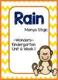 McGraw-Hill - Wonders- Kindergarten Unit 6 Week 1 - Rain