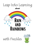 Rain and Rainbows Spring Themed Learning Packet
