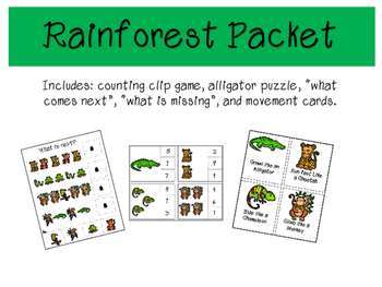 Rain forest Packet