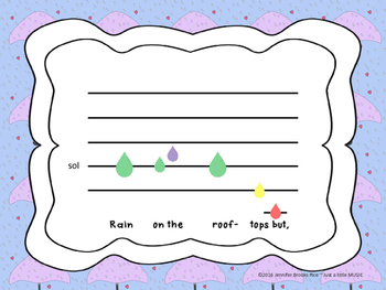 Rain on the Green Grass--A folk song for pentatonic practice with instruments