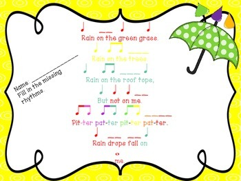 Rain on the Green Grass Boomwhacker Set